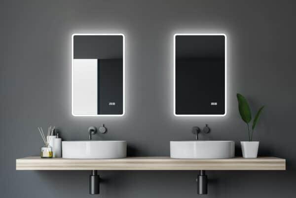 Badezimmerspiegel-45cm-Breite-,it-LED-TALOS-SUN-Lichtspiegel-Shop