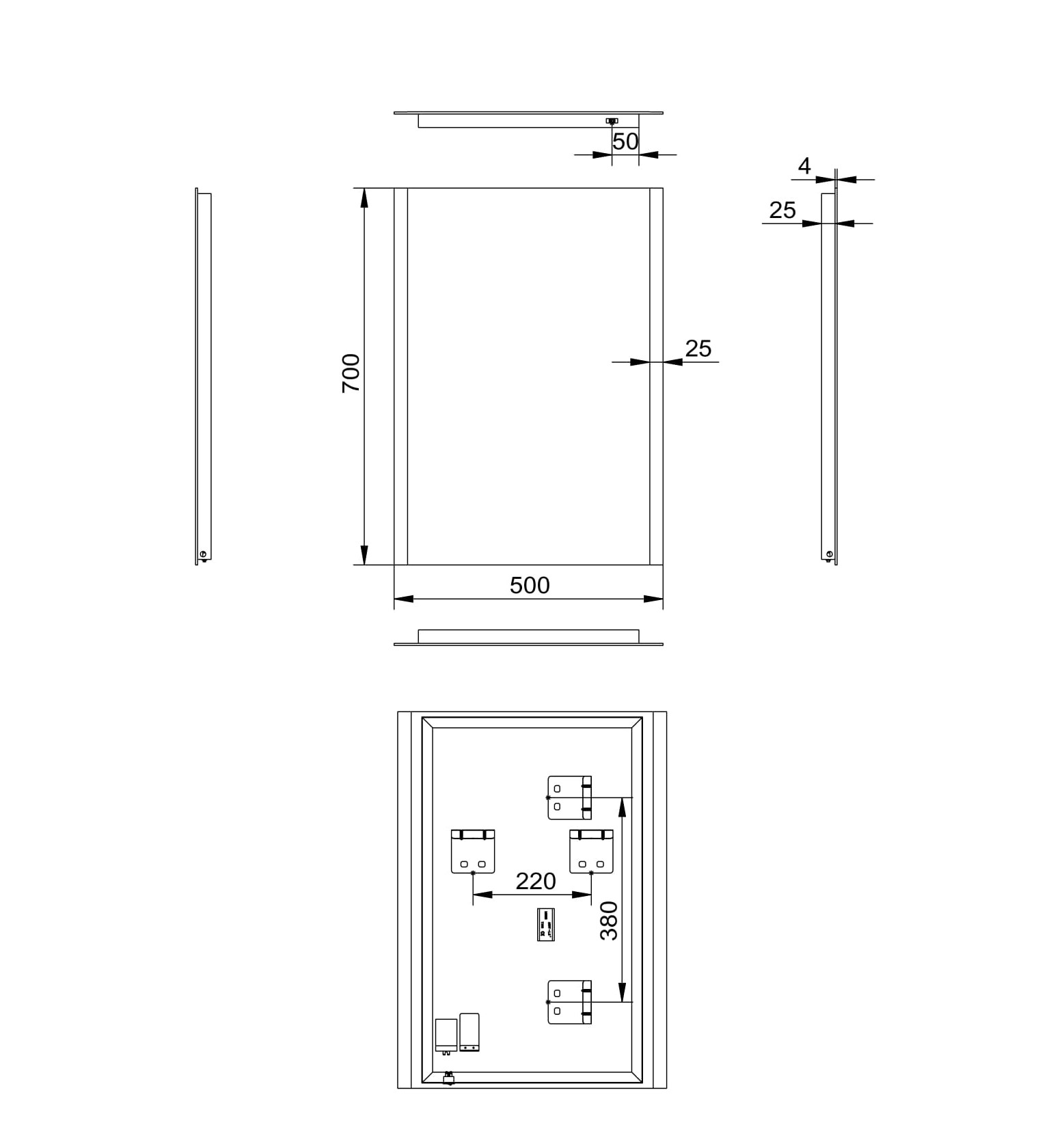 Bathroom Mirror Led Talos Loft Light Mirror Shop