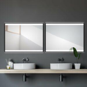 Badspiegel-mit-LED-TALOS-BLACK-SH'INE-80-60cm-Lichtspiegel-Shop