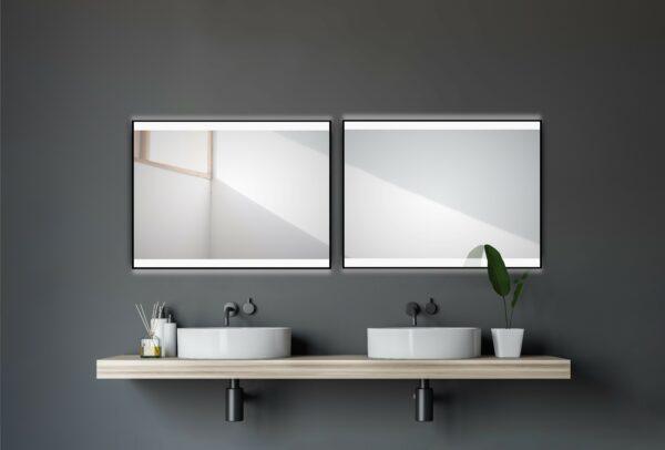 Bathroom mirror-with-LED-TALOS-BLACK-SH'INE-80-60cm-light-mirror-shop
