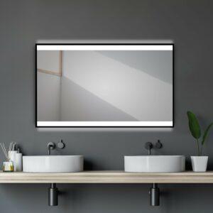 Beleuchteter-Badspiegel-TALOS-BLACK-SHINE-Lichtspiegel-Shop