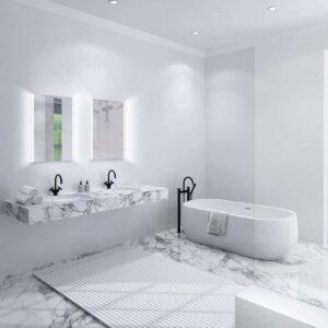 TALOS LOFT Badezimmerspiegel LED