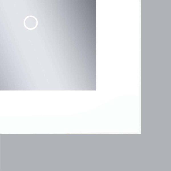 LED Badezimmerspiegel TALOS BRIGHT Touchsensor Detailansicht