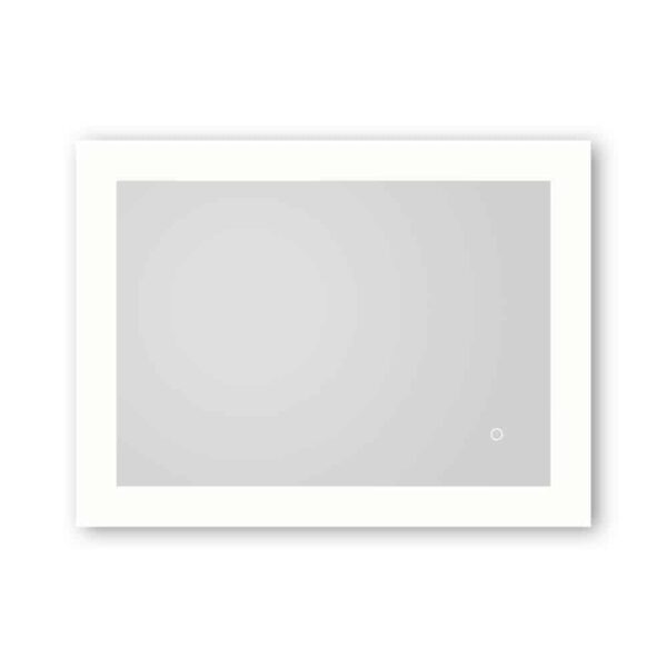 LED Badezimmerspiegel TALOS BRIGHT Freisteller horizontal