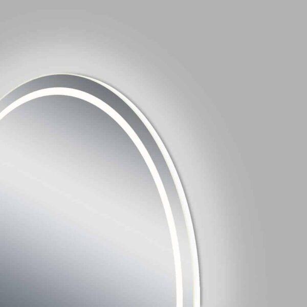 round bathroom mirror LED TALOS MOONSHINE side view