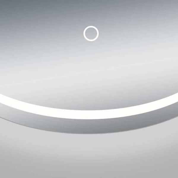 round bathroom mirror LED TALOS MOONSHINE sensor button