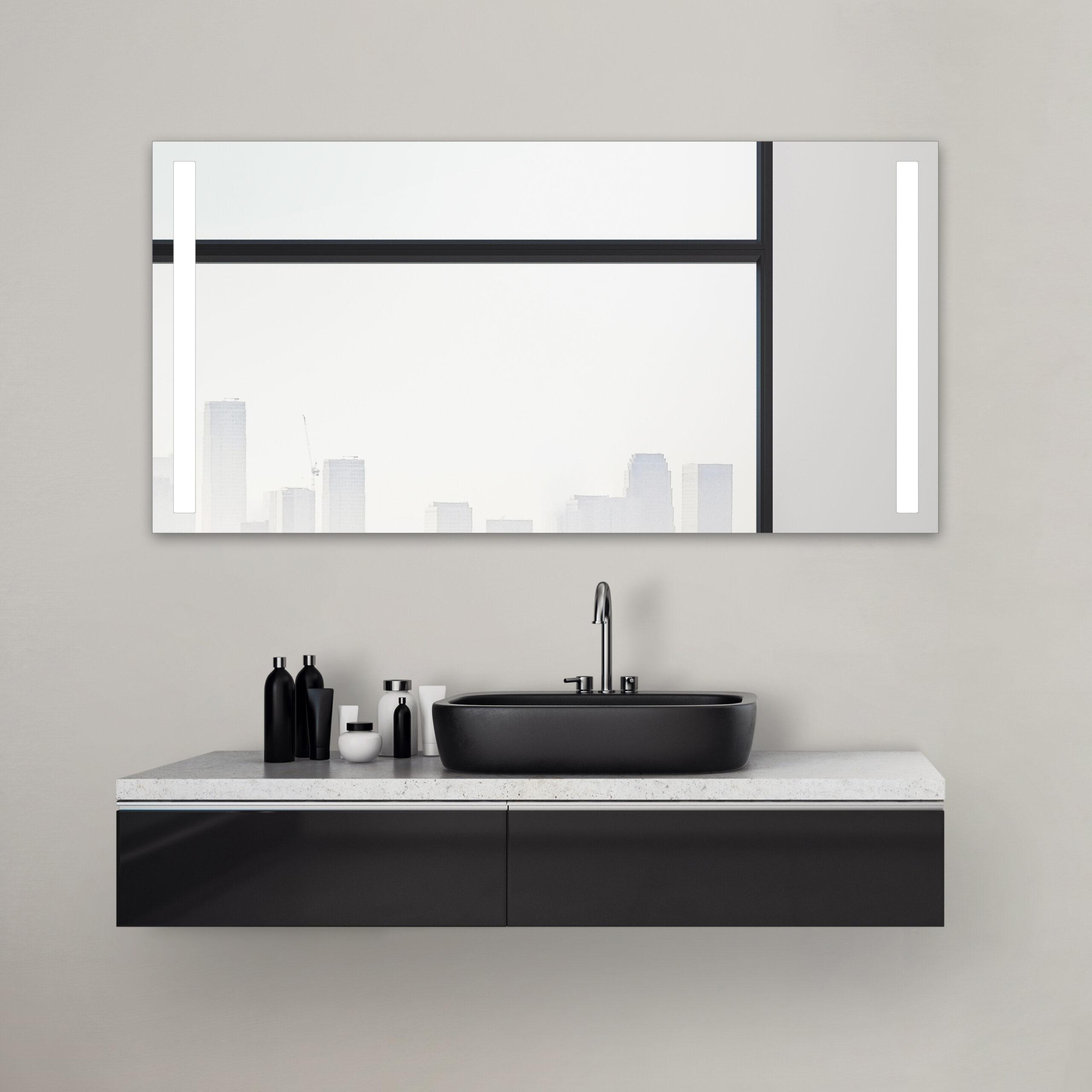 Bathroom Mirror 140 Cm Wide Talos Light Lichtspiegel Shop